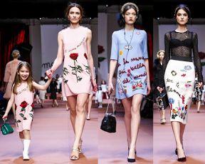 Cum văd eu moda: Pentru mama........de la Dolce & Gabbana