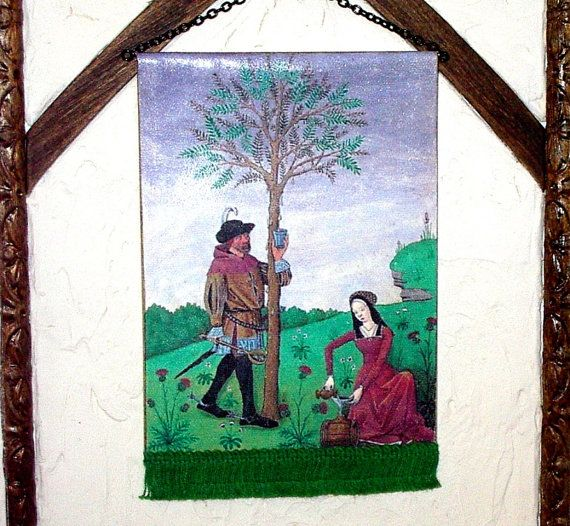 The Tree Tapestry Medieval Dollhouse Miniature by CalicoJewels