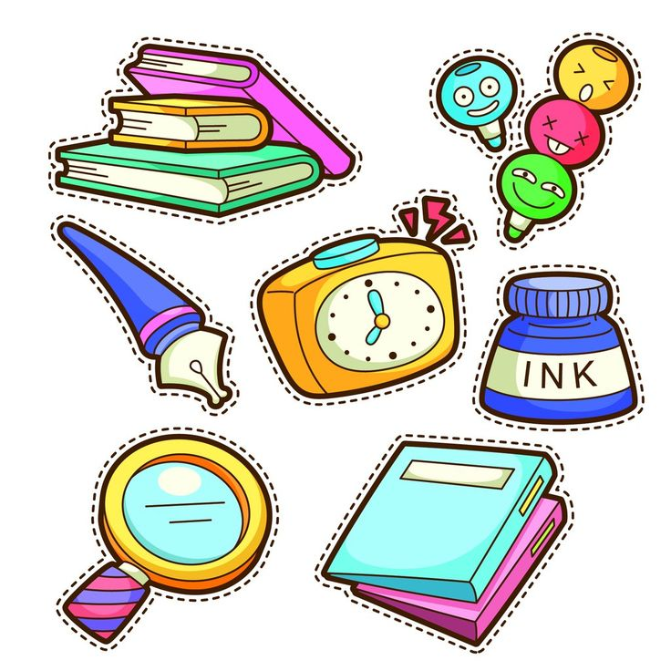 Books, pen, ink, school, learning