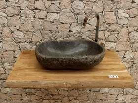 Waschtischplatte Holz Waschtisch Unterschrank Bad