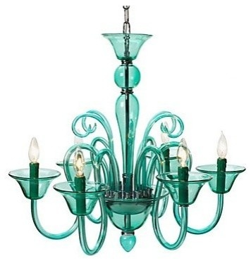 47 best funky chandeliers images on pinterest home ideas calais chandelier in aquamarine aloadofball Gallery