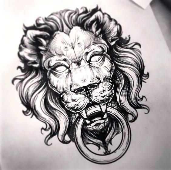 Top 25 Ideas About Lion Head Tattoos On Pinterest Lion