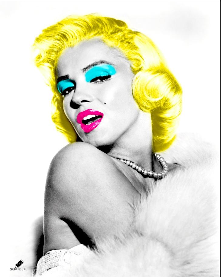 Marilyn , Diseño / Edición Fotográfica