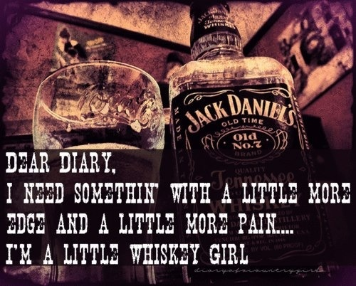 little whiskey girl