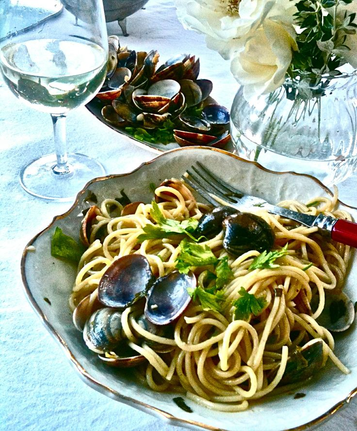 #SpaghettiVongole #fresh #sicily #pasta #seafood