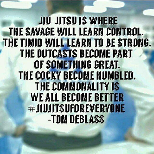 Jiu jitsu for everyone