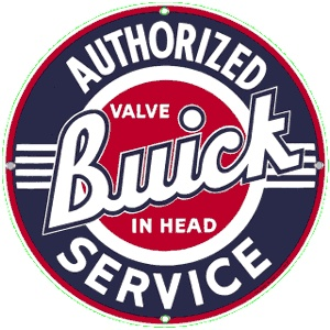 Buick Service.  More signs at www.garageart.com