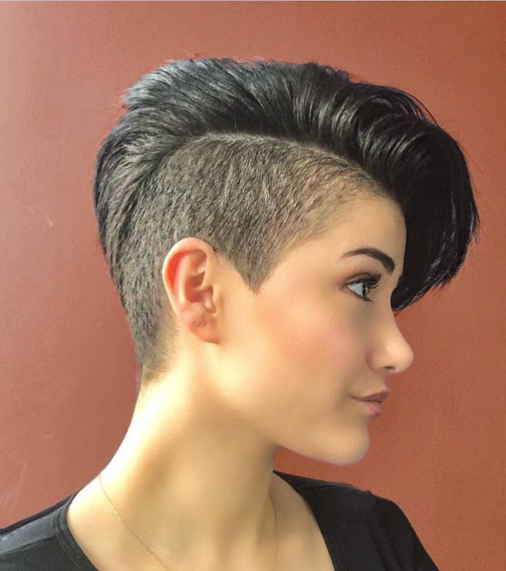 58 Hottest Shaved Side Short Pixie Haircuts Ideas For Woman In 2019 – Page 18 of 58