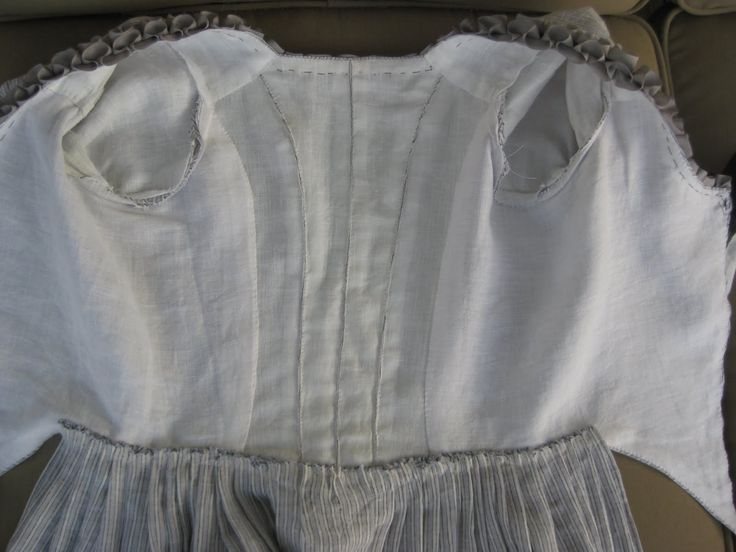 18th century gown inside