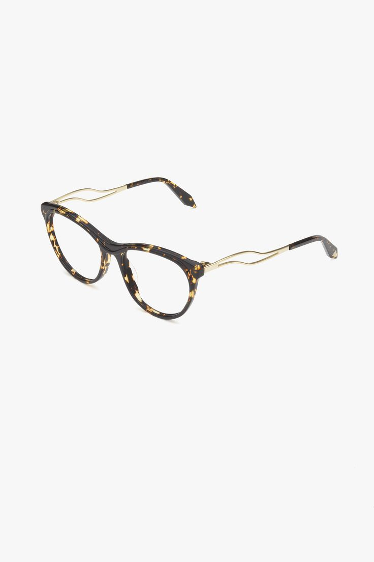 Acetate Kitten Wave VBOPT216 C6 Amber Tort Available to wholesalers from Eye Couture