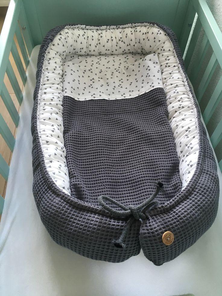 Mijn babynestje met dekentje (het patroon kwam van MadebyM)