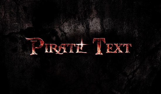 Design a Dirty, Cracked Text with Blood Effect in Photoshop