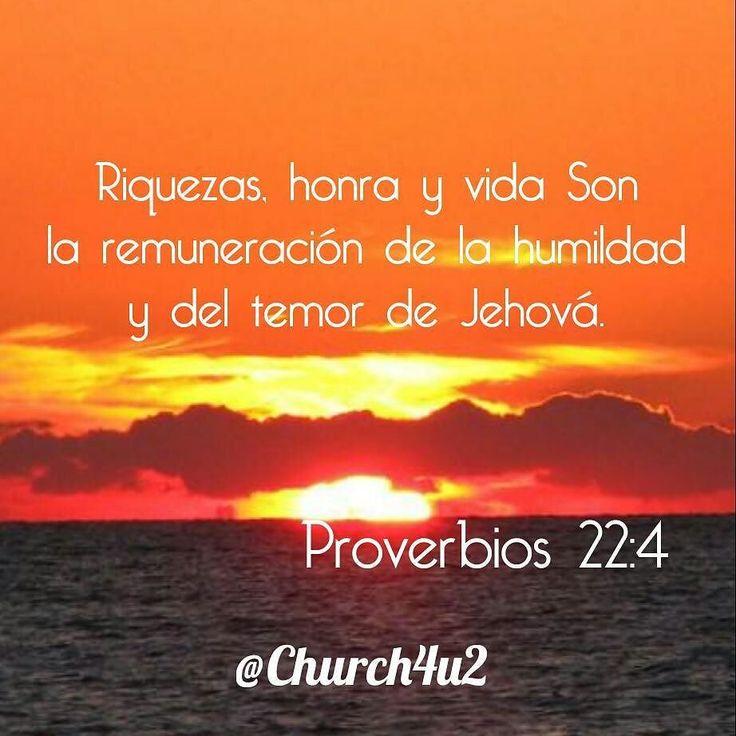 Proverbios 22-4 Riquezas honra y vida Son la remuneración de la humildad y del temor https://church4u2.wordpress.com/2016/06/25/proverbios-22-4-riquezas-honra-y-vida-son-la-remuneracion-de-la-humildad-y-del-temor-de-jehovapic.twitter.com/ewL9Ux8Q8i  Proverbios 22-4 Riquezas honra y vida Son la remuneración de la humildad y del temor http://ift.tt/28VvD7L;http://pic.twitter.com/ewL9Ux8Q8i