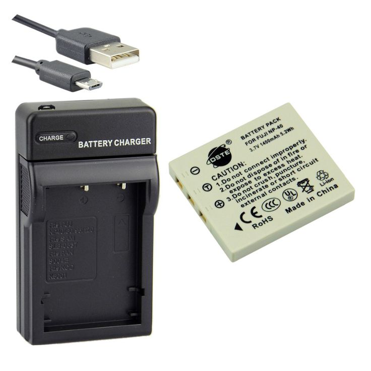 >> Click to Buy << DSTE NP-40 Li-ion Battery + UDC29 USB Port Charger for Fuji FinePix F455 610 650 700 V10 J50 Camera #Affiliate