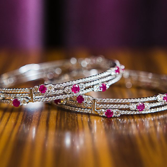 Bangles for a pink inspired bride #bridaljewellery #weddingplanning http://brieonabudget.com/pinterest/