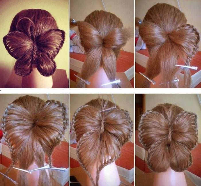 Butterfly Hairstyle http://alldaychic.com/butterfly-hairstyle/