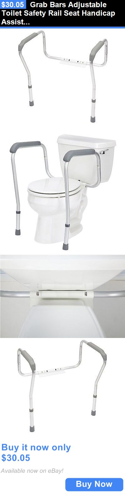 other fixtures grab bars adjustable toilet safety rail seat handicap assist disable bathroom buy