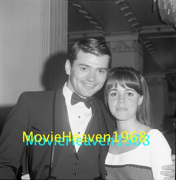 RARE Pete Duel SALLY FIELD VINTAGE 2.25 NEGATIVE PHOTO TRANSPARENCY #1022