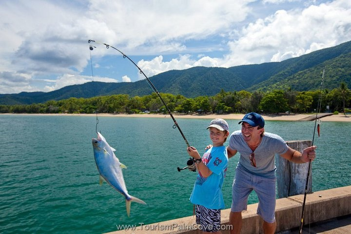 Fishing, Palm Cove Jetty