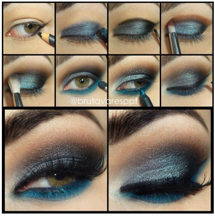 Dashing Blue Makeup