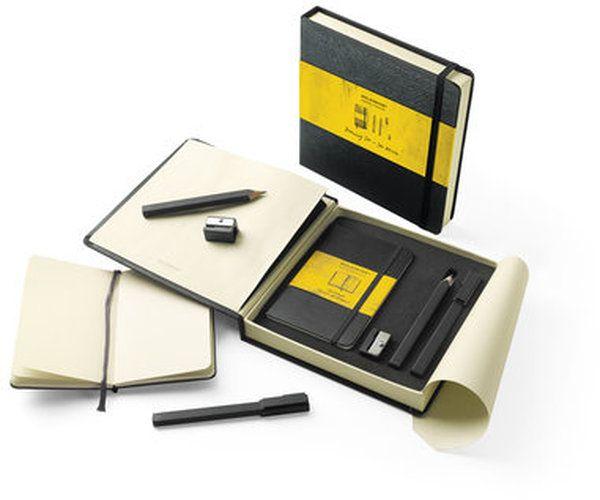 Zestaw Moleskine GIFT BOX 19,3x19,5 dla Rysownika