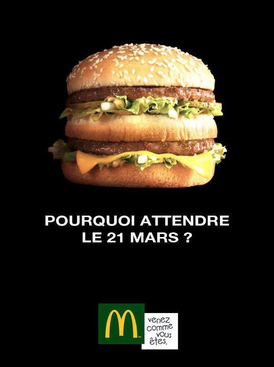 Mc Donald's : Une pub contre Burger King ou un fake ? - http://ibuzzyou.fr