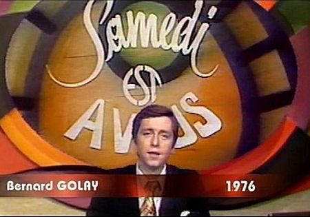 Samedi est à vous - Bernard Golay