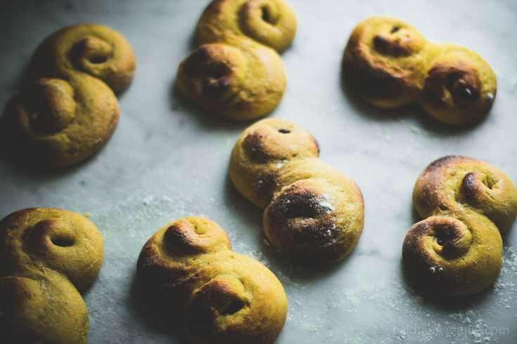 gluten free swedish saffron buns-8
