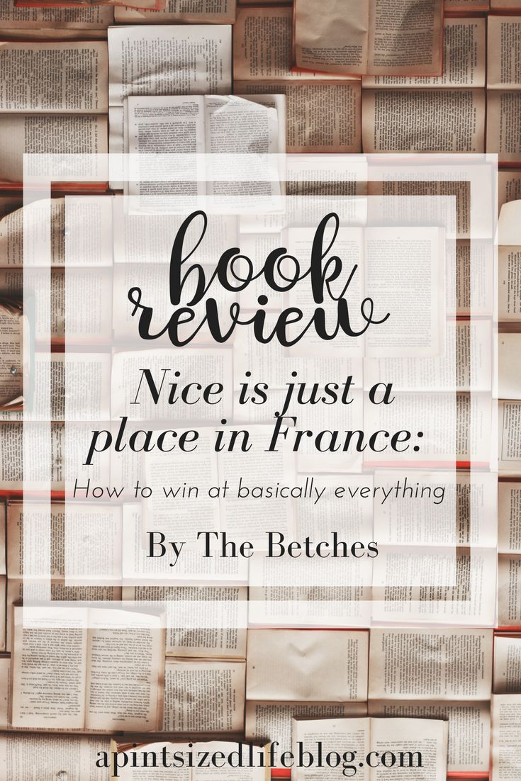 Reviewing 'Nice is just a place in France'. Probably one of the funniest, brutally honest and best books I've read in a while.