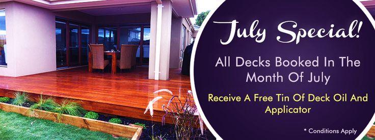 July Deck Special, Decking, Garden Renovators Landscaper Pakenham Melbourne Australia www.gardenrenovators.com.au