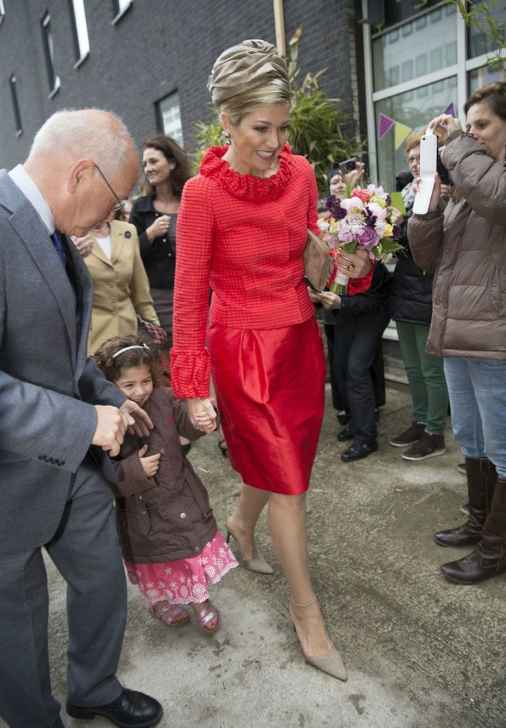 Queen Maxima visits 150th anniversary of Sophia children hospital