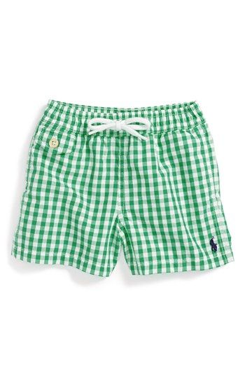 Ralph Lauren Swim Trunks (Baby Boys) | Nordstrom