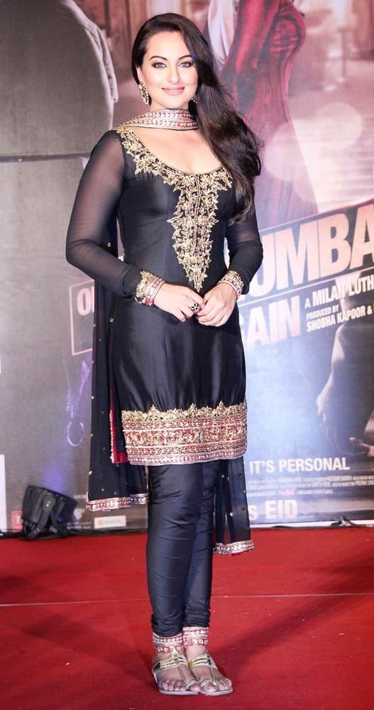 Sonakshi Sinha at trailer launch of 'Once Upon A Time in Mumbaai Again' #Bollywood #Fashion