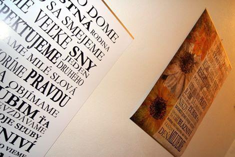 Obrazy s textami nájdete v predaji tu: http://artsablony.sk/obchod/obrazy-s-textom