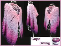 """Cape """"Swing"""" Schriftliche Anleitung: www.crazypatterns…"""