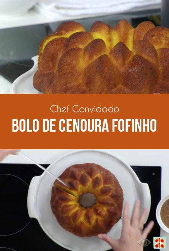A doceira Ana Faria ensina como evitar que o seu bolo fique embatumado e mostra a receita de um bolo macio de cenoura.