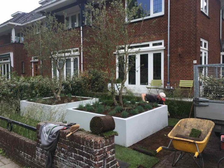 Polyester plantenbak voor buiten