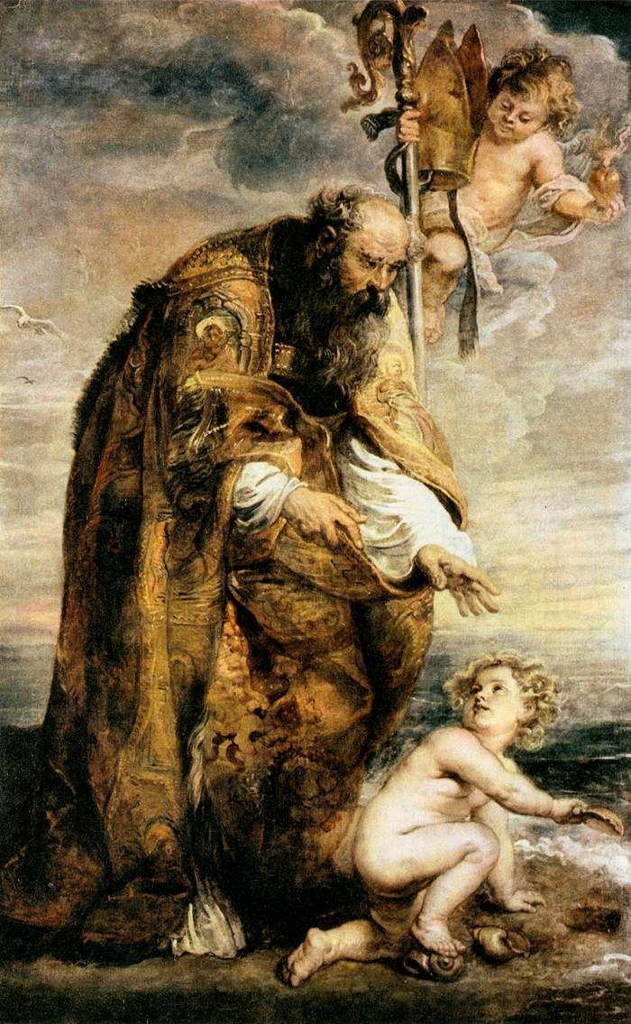 Santo Agostinho e o anjo. Uma bela história!