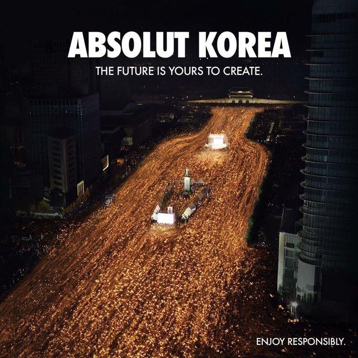 Absolut Korea Ads