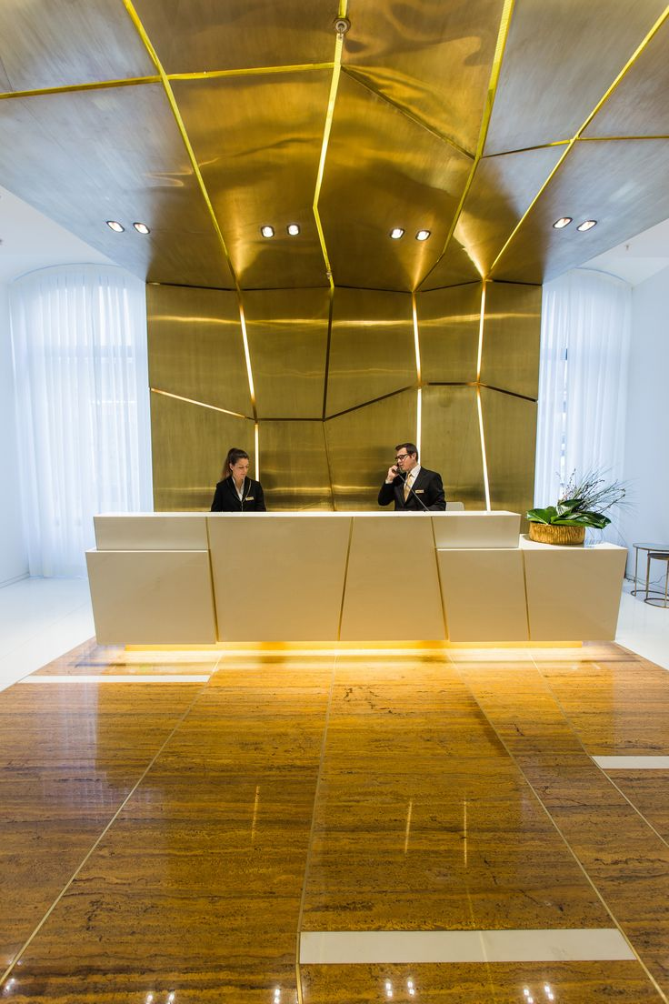 240 best front office images on pinterest commercial for Design hotel reception