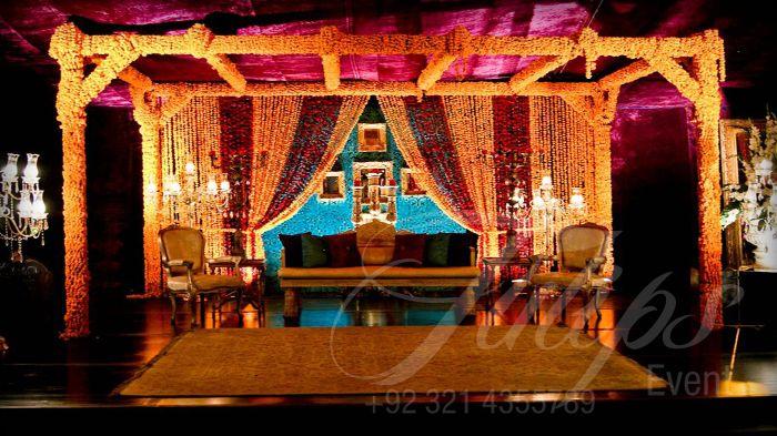 Mehndi Stage Decoration Dailymotion : Images about mehndi night on pinterest