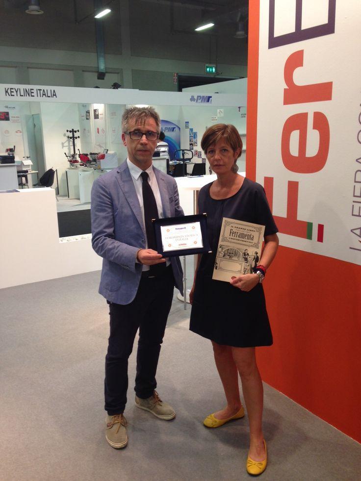 Premiazioni a FerExpo - Fiera di Bergamo - Ente Fiera Promoberg 2014