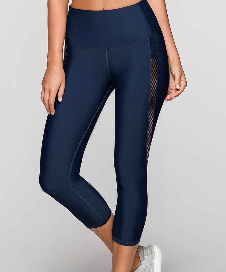 Take a look at this Marine Exertion Core High-Waist Capri Leggings today!