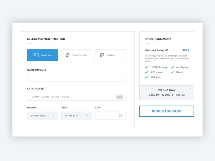 Checkout Page by Chemseddine Abdallah