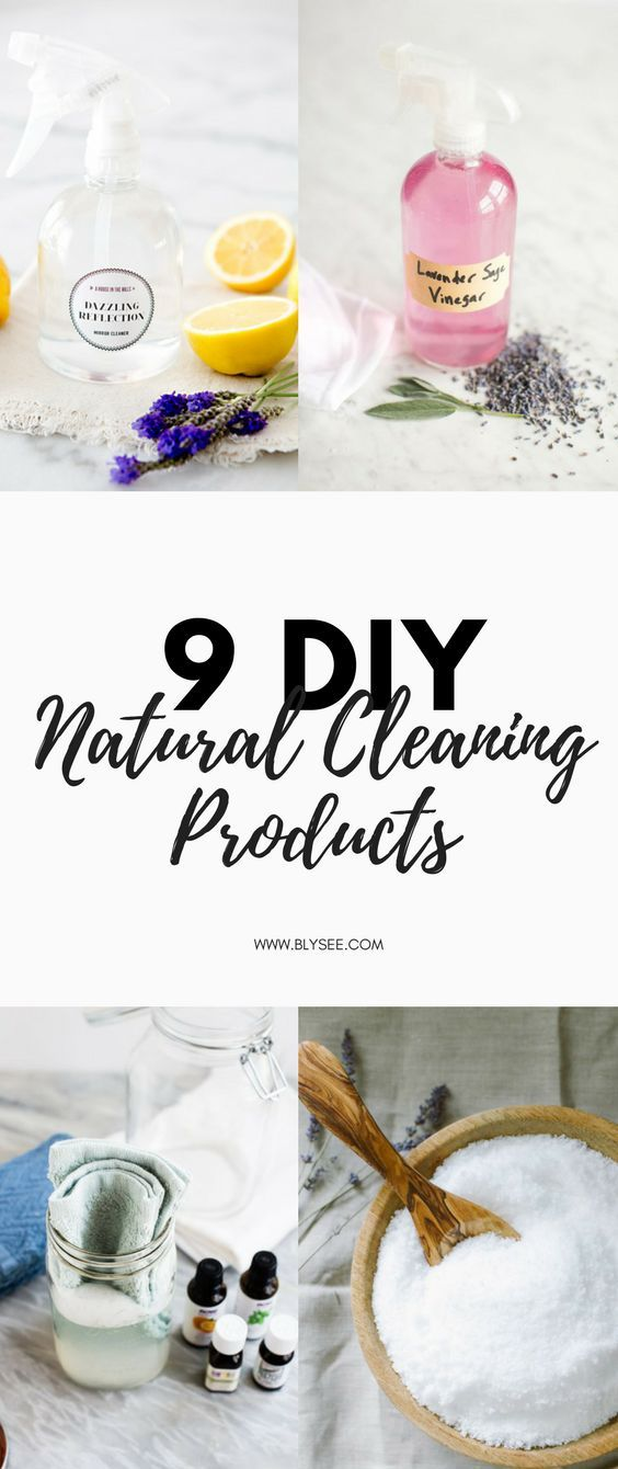 9 DIY natural cleaning products