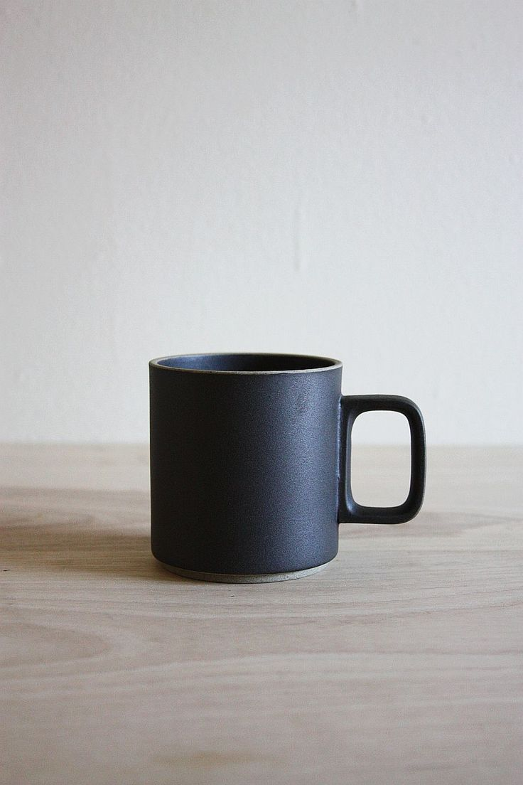 """A beautifully crafted piece from the Hasami dinnerware collection.  Versatile coaster doubles as a lid to keep your brew warm. Sold  separately.    Available in Natural and Black stone.  Measurements: 3.25"""" D x 3.5"""" H  Made in Japan."""