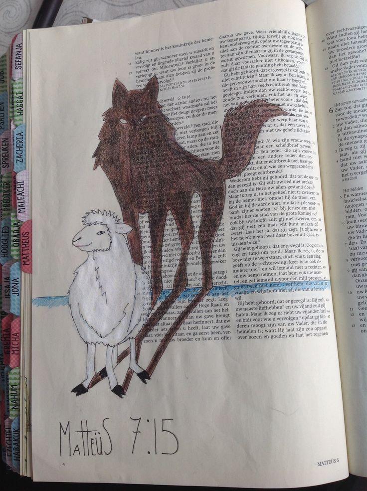 Wolf in schaapskleren. C vd Berg Gouda