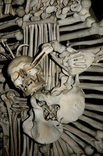 skeleton chapel in czech - Google Search
