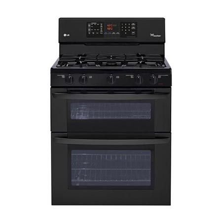 6.1 cu. ft. Capacity Gas Double Oven Range with SuperBoil™ Burner and EasyClean™ #LGLimitlessDesign & #Contest