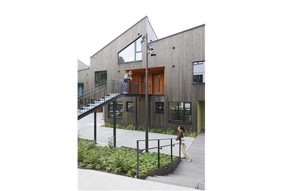 Housing for young people (førstehjemsboliger for ungdom) in Oslo. Architect: Haugen/ Zohar Arkitekter.